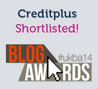 Creditplus Shortlisted for the UK Blog Awards