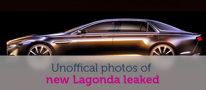 First photos of new Aston Martin Lagonda Image