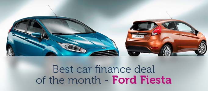 Best Car Finance Deal of the month - Ford Fiesta Image