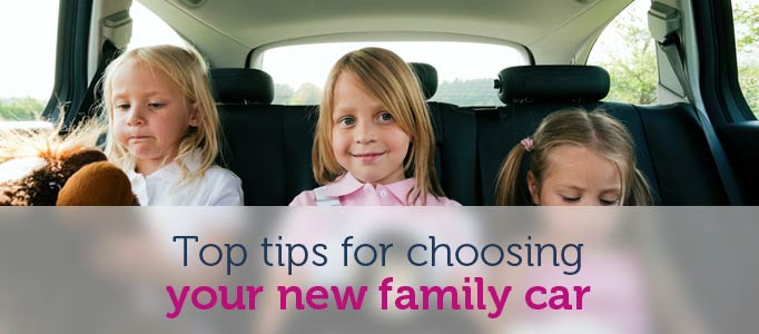Top tips for deciding and purchasing a new family car Image