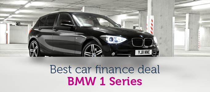 Best car finance deal of the month - BMW 1 Series Image