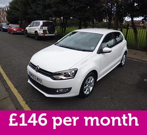 2013 Volkswagen Polo is included in the best car finance deals of the week at £146 per month