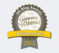UK Blog Awards WInner