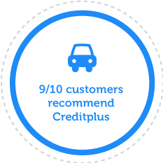 9/10 Customers Recommend Creditplus