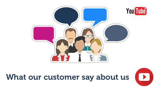 What our customers say about us headline page