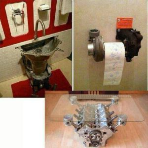 toilet-roll-hold-made-from-used-car-partsjpg