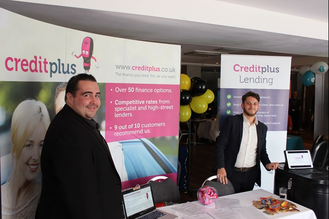 Creditplus at Daily Echo Jobs Fair