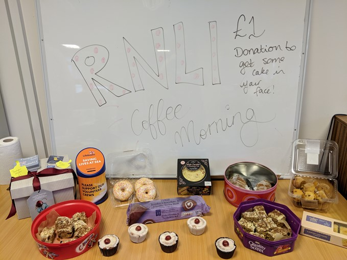 RNLI coffee morning
